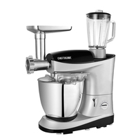 220V/1200W 7 In 1 Multifunctional 7L Professional Dough Mixer Kitchen Stand Food Mixer Electric Egg Beater Grinder Juicer