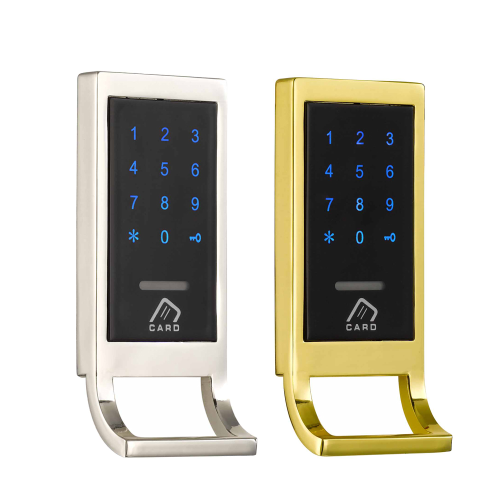 Free Shipping Smart Electronic Keyless Rfid Card Cabinet Lock Digital Keypad Password Cabinet Lock 12v cabinet case electric solenoid magnetic lock micro safe cabinet lock storage cabinets electronic lock file cabinet locks