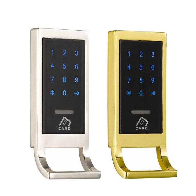 Free Shipping Smart Electronic Keyless Rfid Card Cabinet Lock Digital  Keypad Password Cabinet Lock