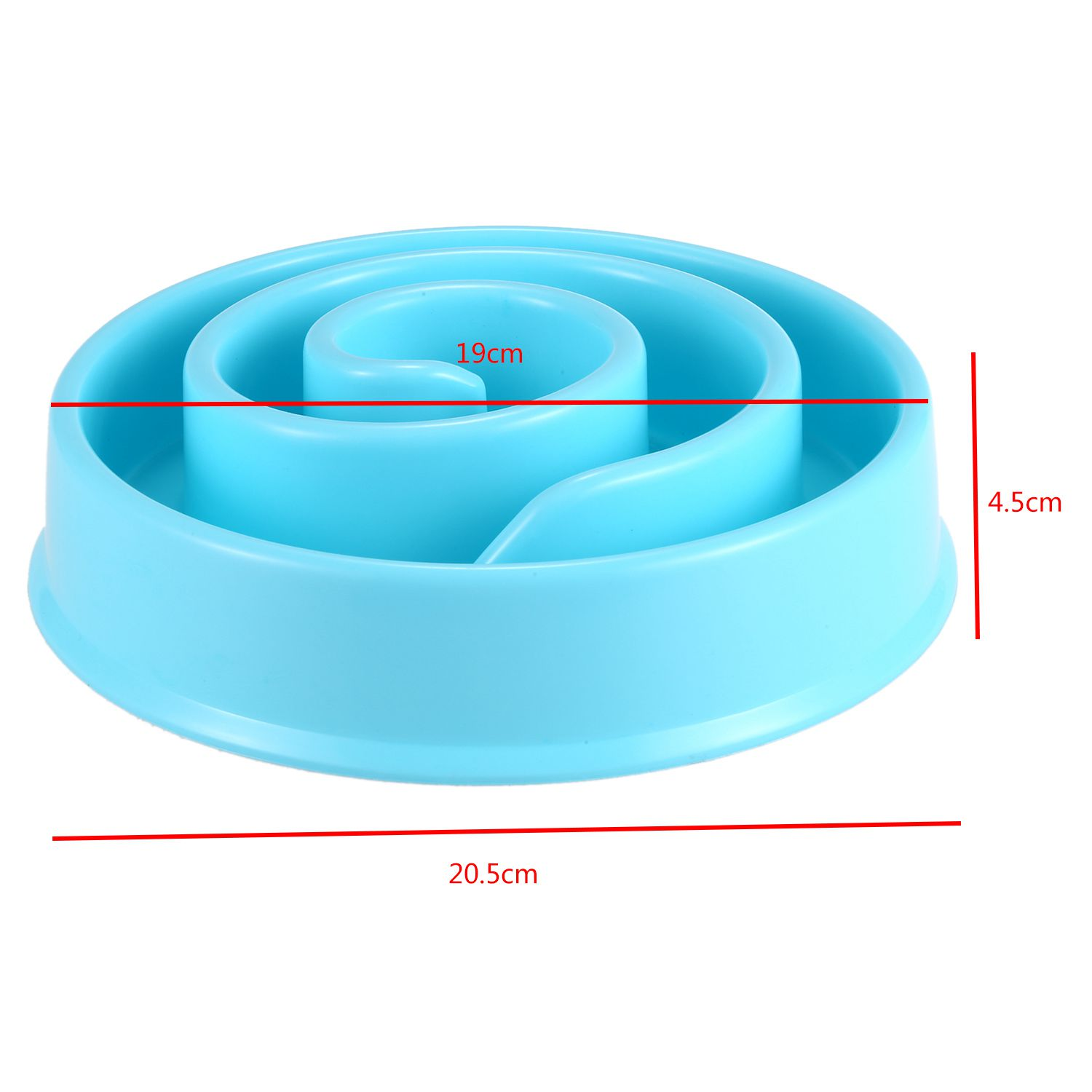 Pet Dog Feeding Food Bowls Puppy Slow Down Eating Feeder Dish Bowel Prevent Obesity Dogs Supplies