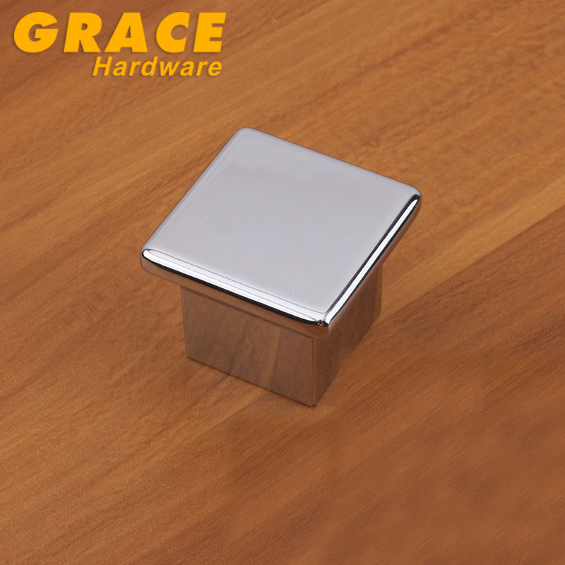 Hardware Chrome Wardrobe Furniture Handle Cabinet Drawer Door Handle Knobs Modern(L:35mm) chrome plated modern handle c c 192mm l 218mm h 23mm drawers cabinets