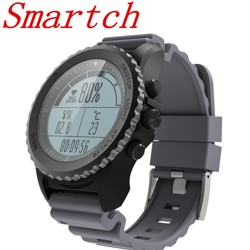 Smartch GPS Smart Watch Men Bluetooth Swimming Band IP68 Waterproof Heart Rate monitor Multi-sport Watch Women support pk kw88 smart baby watch q60s детские часы с gps голубые