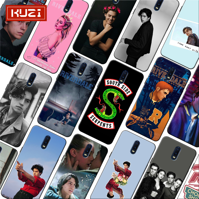American TV Riverdale Series Cole Sprouse Coque Soft Silicone Phone Case for font b oneplus b