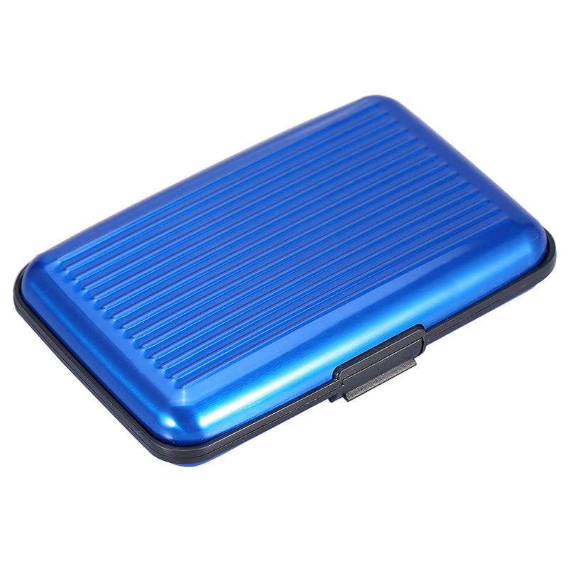 Wallet Credit-Card-Case-Holder Scanning-Card Business-Id Metal Anti-Rfid Aluminum Women