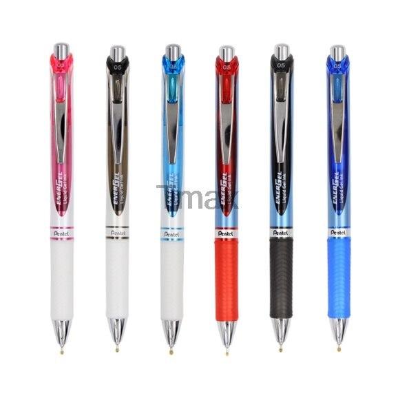 3 Pcs/Box Pentel BLN75 Gel pen  Gel Ink Pen-Fast Drying- Needle Tip-0.5 mm Writing Supplies Office & School Supplies bort bln 15 k