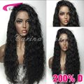 200% Density Glueless Full Lace Wig Brazilian Water Wave Full Lace Human Hair Wig For Black Women Lace Front Wig With Baby Hair