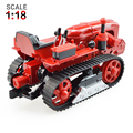 KAIDIWEI Crawler Tractor Metal 1:18 Scale  Diecast Alloy Car Model Collection  Kids Toy Gift