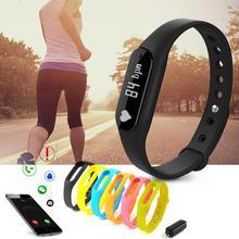 Smart Bracelet Bluetooth 4.0 Waterproof Fitness Tracker Health Wristband Sleep Monitor Smart Watch