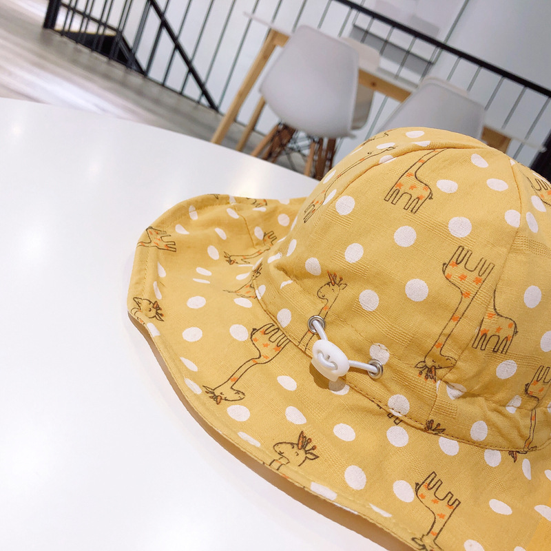 2019 1 to 5 years old new baby lovely joker children fisherman hat for baby outdoor sun hat infant hat kids baby bonnet XA 224 in Hats Caps from Mother Kids