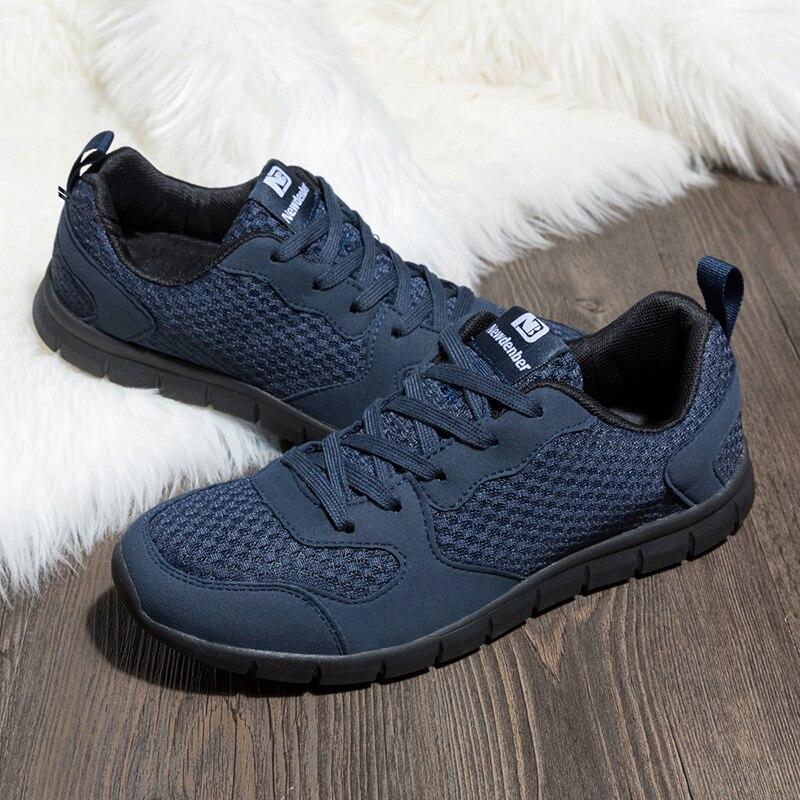 0af4431164 Correndo Sapatos Confortáveis sapatos de Desporto Sapatos de Caminhada Ao  Ar Livre Dos Homens Malha Respirável