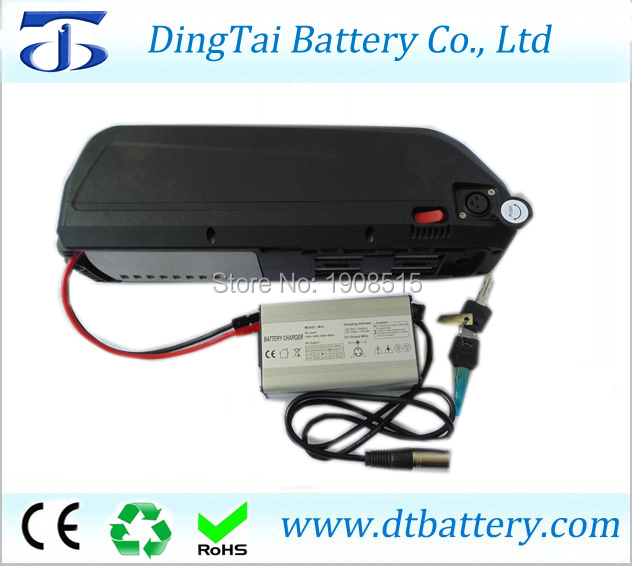 750w 1000w high power 51.8V 52V 17Ah Electric Bike li-ion shark Battery Pack  with BMS and chargerfor 48V BBSHD bafang motor 48 volt li ion battery pack electric bike battery with 54 6v 2a charger and 25a bms for 48v 15ah lithium battery