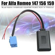 1 Pc Bluetooth Adapter AUX Music Module Cable For Alfa Romeo Mito Fiat Lancia Giulietta Brera Bluetooth Adapter turbo cartridge chra rhf3 vl36 vl37 for alfa romeo mito for fiat grande punto bravo lancia delta t jet 16 1 4l 55212916 55212917
