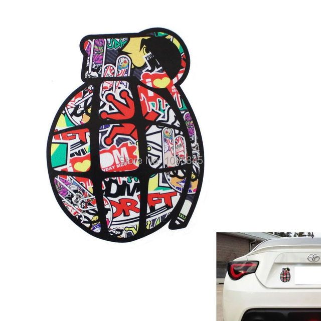 Aliexpress Com Buy Car Styling Graffiti Style Jdm Drift King New