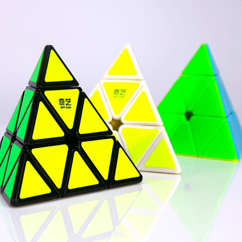 QIYI Professional Pyramid Cube 3x3x3 Education Speed For MagicPuzzle Fidget Cubes Neo Cubo Magico Pyraminx Children Adult Toy