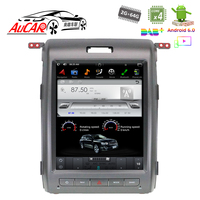 AuCAR Tesla Style Android 12.1 Car Stereo For Ford F150 2009 2014 Vertical Touch Screen Radio Dvd Player GPS Navigation GPS