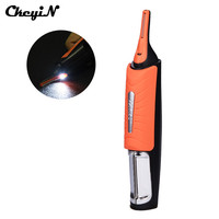 Micro Precision LED Hair Clipper Ear Nose Eyebrow Hair Trimmer Shaver Men From Micro To Full
