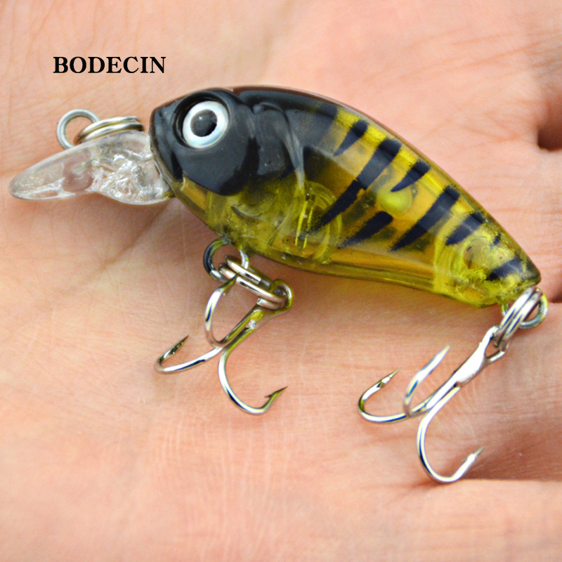 Fishing Lures Wobbler Lure Artificial Bait Peche For Fish Small Hard Crankbaits With Hooks Tackle Crank Bait 4.5cm-4g Sea (2)