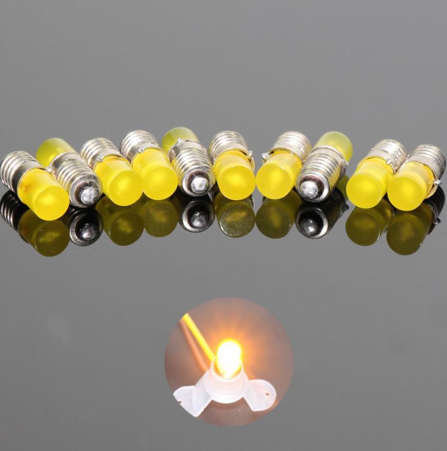 Lighting Base for Model Houses E5.5 19V Complete 10 x NEW