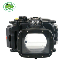 For Sony HX90 Camera Scuba Diving Photography Waterproof Housing Case Underwater 40m Impermeable Multifunction Protect Cover Bag waterproof case for canon 5d mark iii 3 iv 4 dslr camera housing underwater 40m scuba diving photography protective box cover
