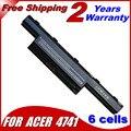 Jigu batería del ordenador portátil para acer aspire v3 v3-471g v3-551g v3-571g v3-771g e1 e1-421-431-471 e1-531 e1-571 series