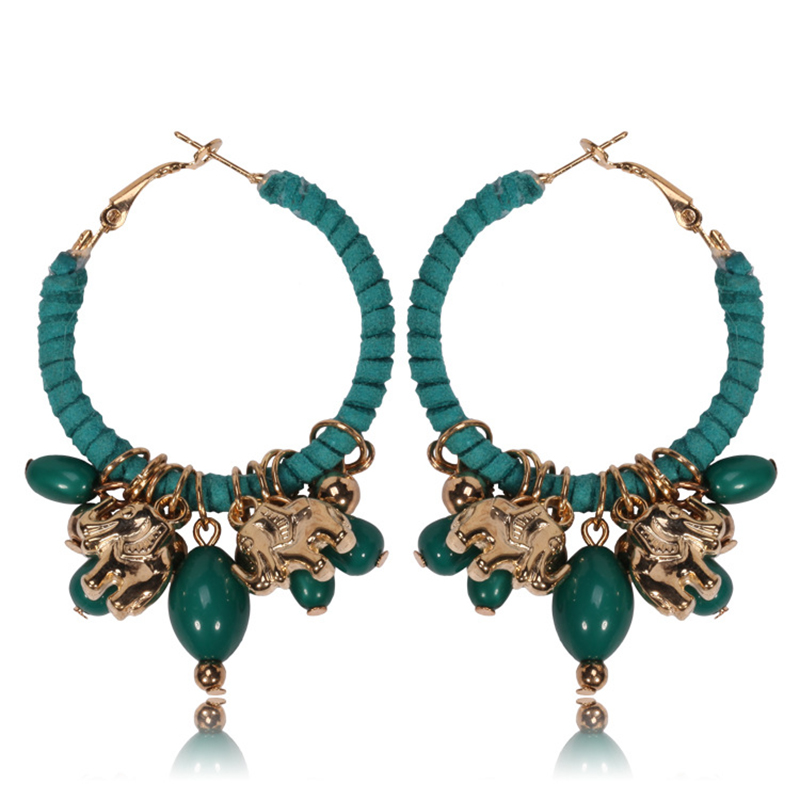 929aef9a3 best top 10 hoop elephant earings list and get free shipping - nf798k89