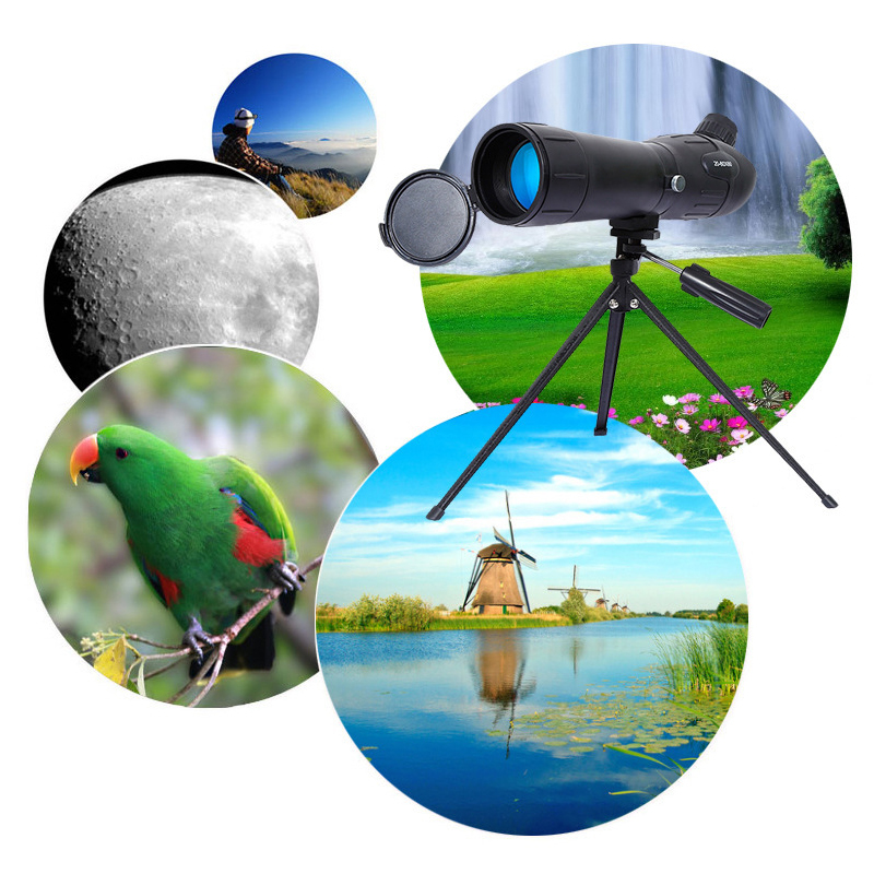 JINXINGCHENG 20 60X60 del Telescopio Dello Zoom Dell'obiettivo di Macchina Fotografica per Smartphone Telescopio Celular Telefono Mobile di Visione Notturna del Telescopio - 6