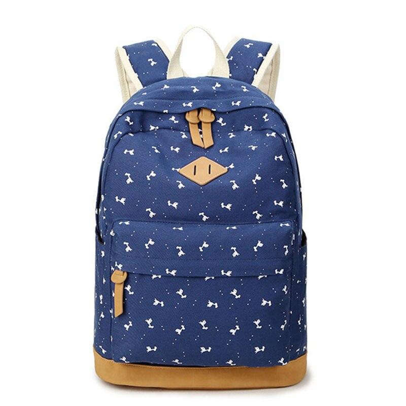 Canvas Backpack Youth Fashion Women Bagpack Teenagers Backpacks For Teenage Teen Girls Feminine Backpack Girl Mochila