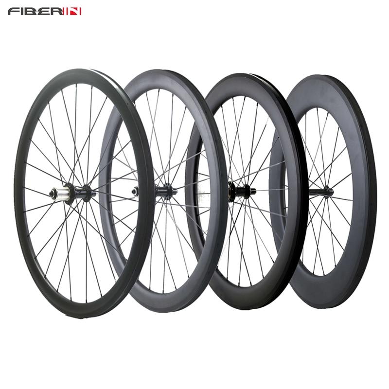 38 50 60 88mm profondeur pneu vélo de route NOvatec ou Powerway carbone arrière seulement roues de vélo