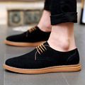 Hot Sale Men Shoes 2017 Spring Autumn Spring Autumn Synthetic Genuine Leather Casual Breathable Shoes Mens Oxfords Outdoor Flats
