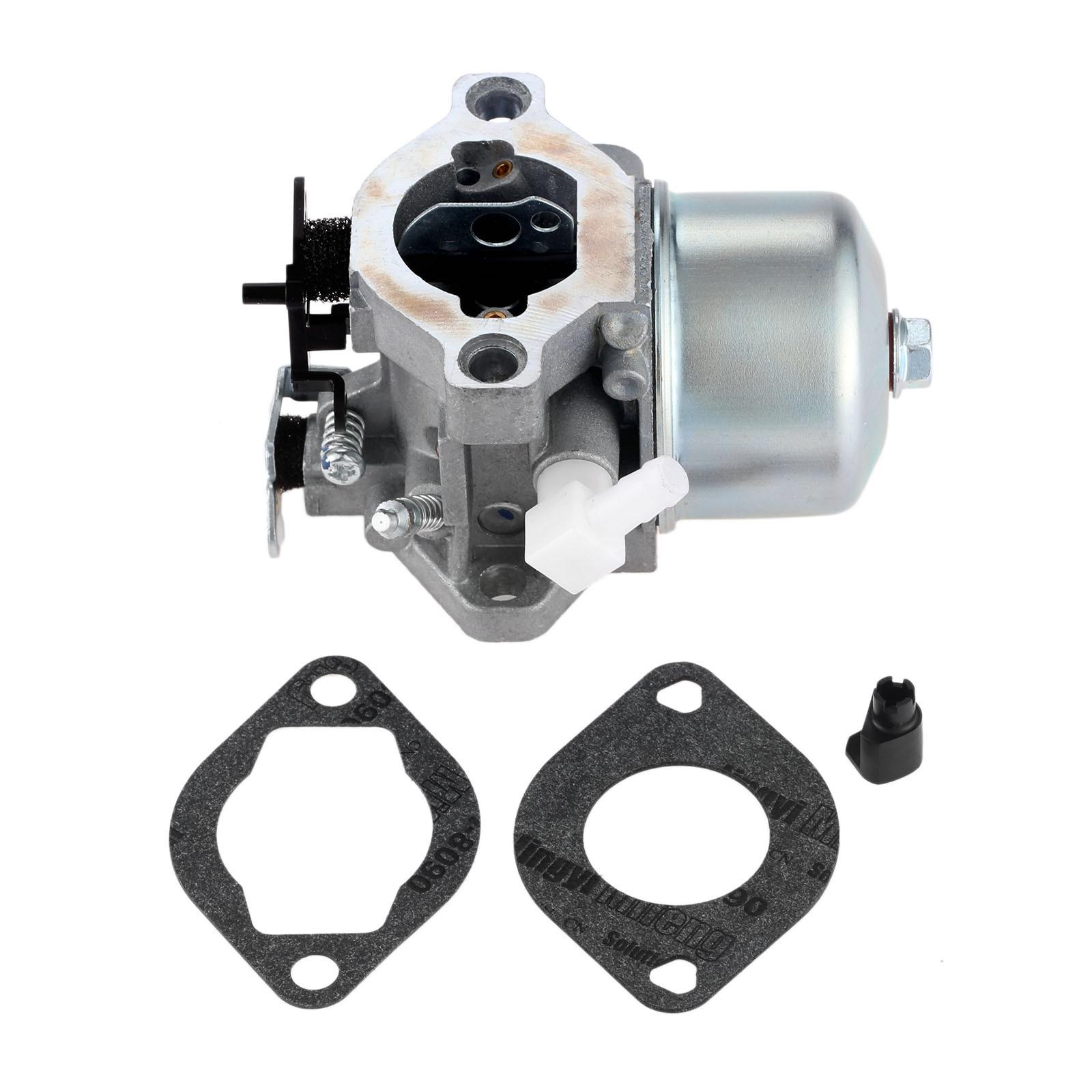 DRELD Replacement Carburetor With 2pcs Carburetor Gasket For Briggs & Stratton 699831 Carb Lawn Mower Garden Power Tools