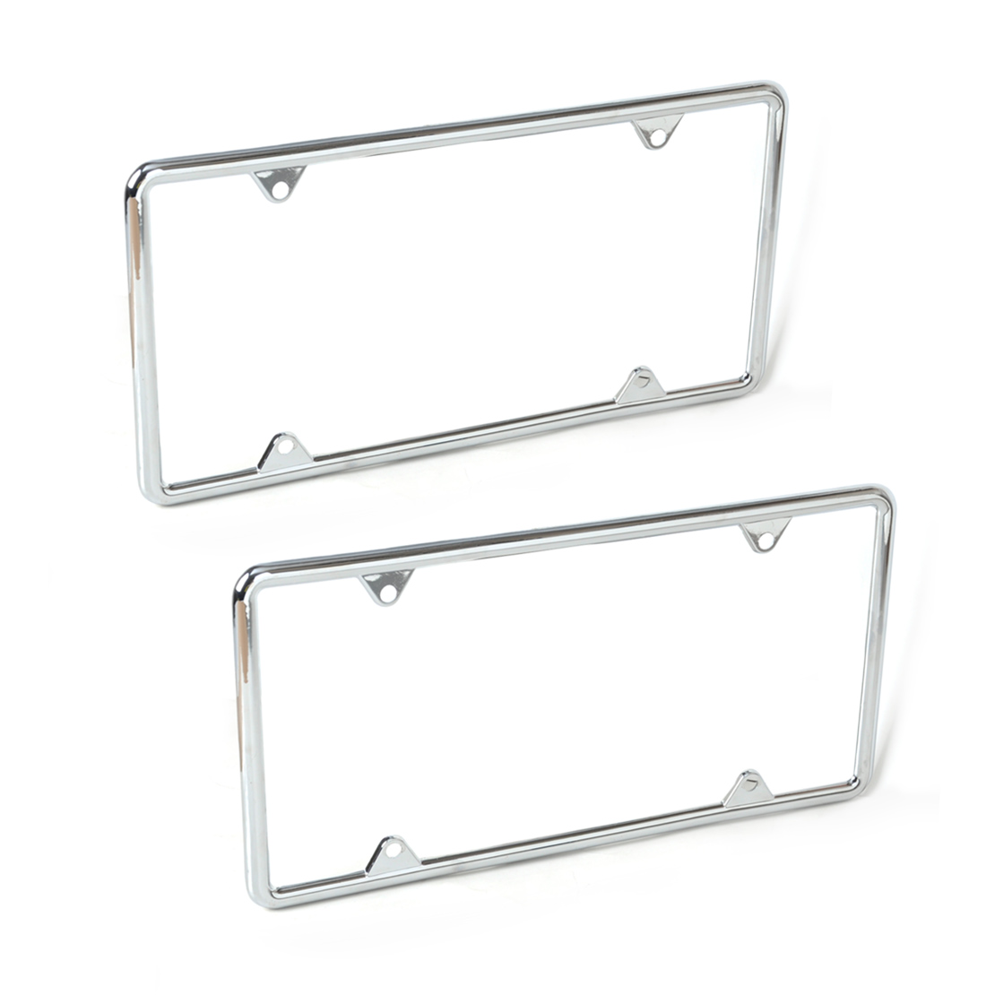 CITALL 2PCS Zinc Alloy License Plate Frame For Mercedes W212 Audi Q5 ...