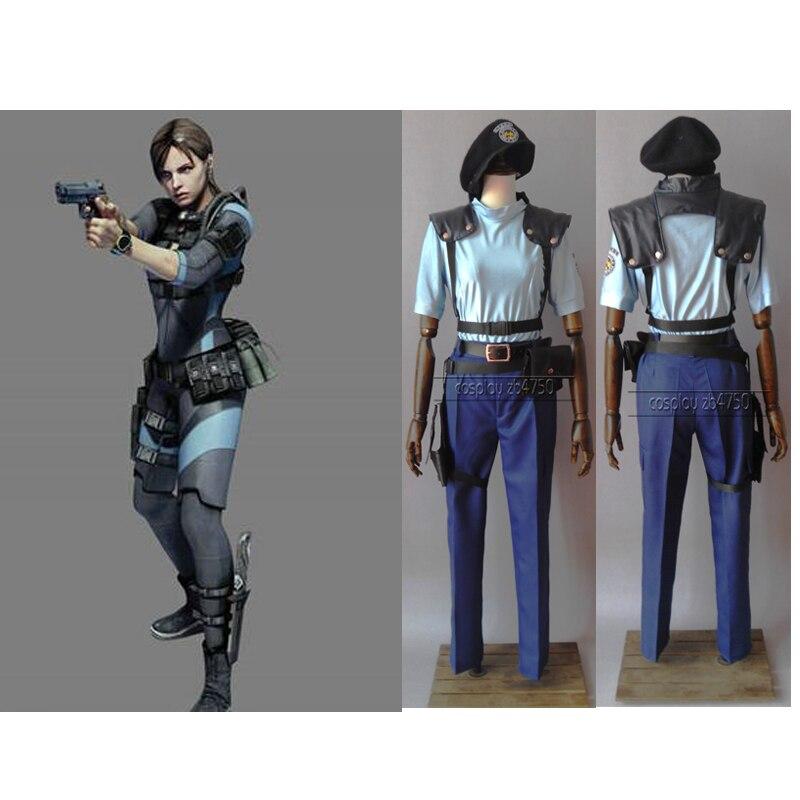 2016 Resident Evil Costumes Jill Valentine Cosplay Costume
