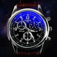 Yazole 2017 Top Brand Luxury Famous Mens Watches Fashion Quartz Watch For Men Male Clock Wrist