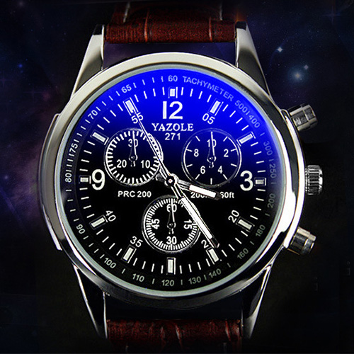 Yazole 2017 Top Brand Luxury Famous Mens Watches Fashion Quartz Watch for Men Male Clock Wrist