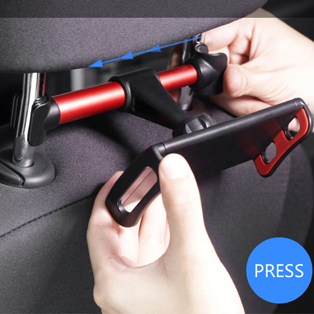 Universal Holder 360 Degree Rotation Adjustable Back Seat Stand Car Rear Pillow For Mobile Phone IPad Tablet