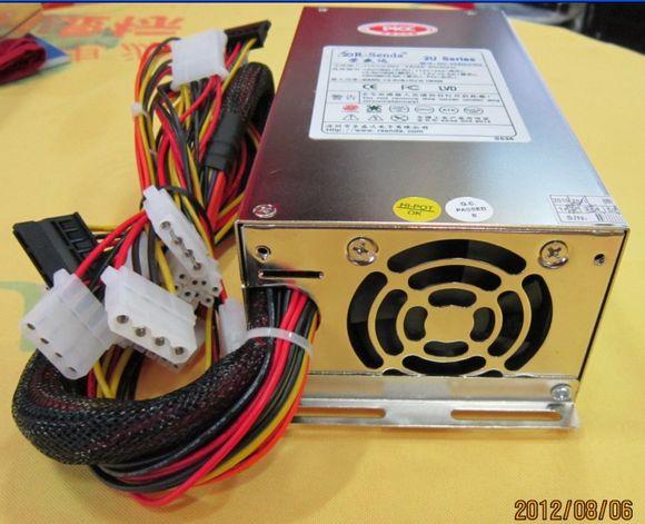 Emacro R-Senda SD-3450U/2U Server - Power Supply 400W 2U PSU Computer, Sever 115-230V 7-4A, 50-60Hz