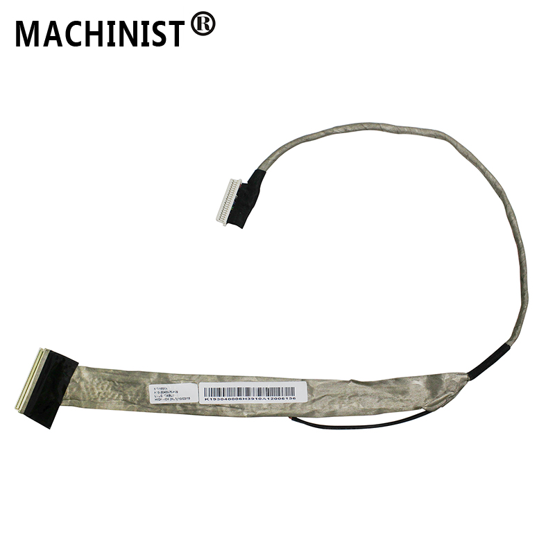 Video screen Flex wire For <font><b>MSI</b></font> <font><b>GX620</b></font> GX630 MSI1651X laptop LCD LED LVDS Display Ribbon cable K19-3040006-H39 image
