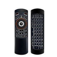 2.4Ghz Wireless Keyboard Fly Air Mouse Somatosensory Gyro Remote Dual Size Backlit Keypad for Computer Android TV Box