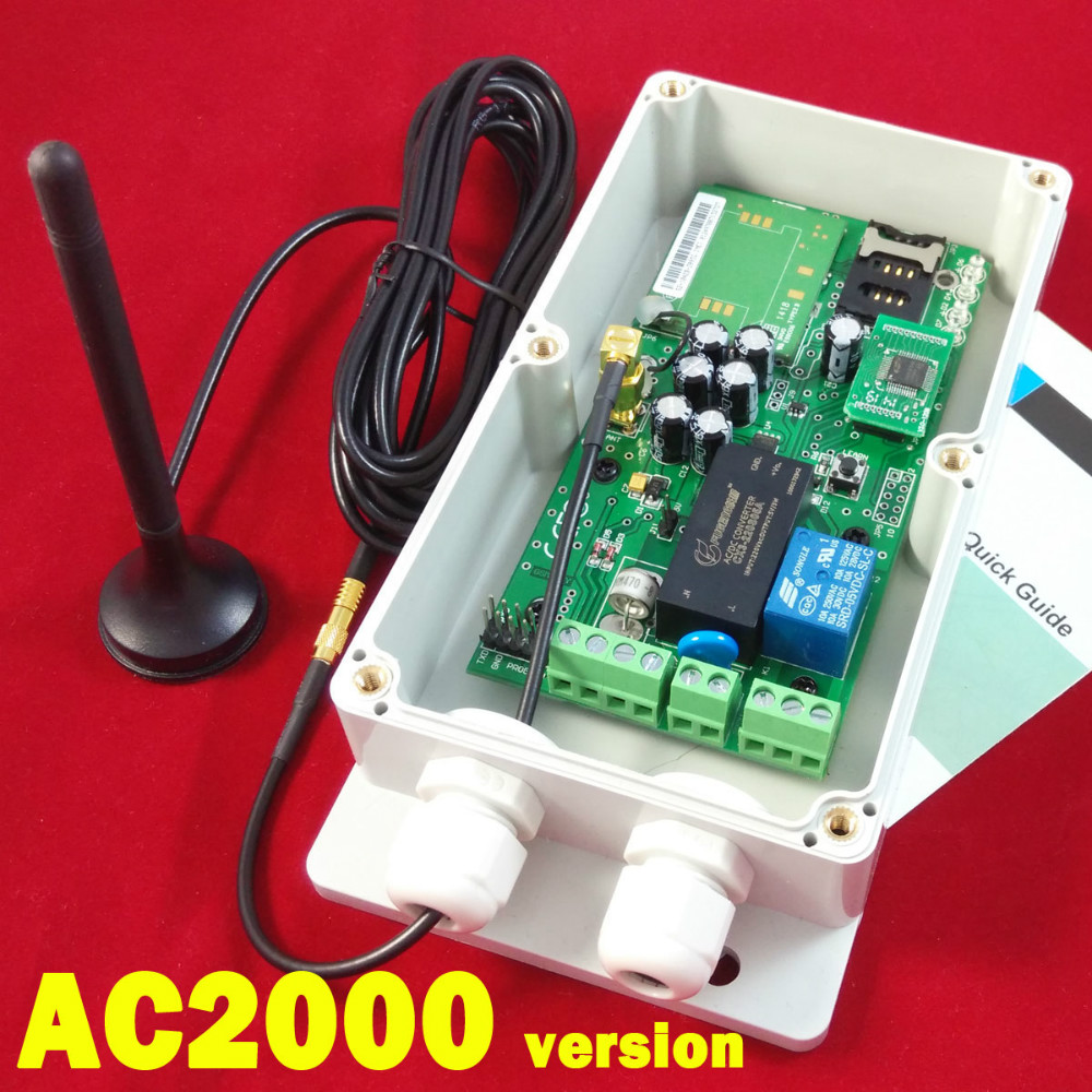 GSM remote control board for automatic door (Quad band with Big memory) AC2000 type