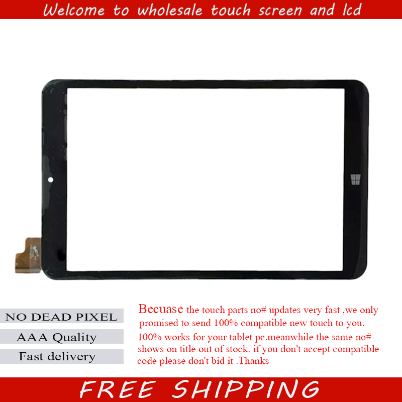 New 8 Tablet For Prestigio MultiPad Visconte Quad PMP881TD Windows Touch screen digitizer panel replacement glass Sensor