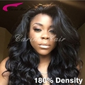 8A Full Lace Human Hair Wigs Brazilian Body Wave Lace Front Wigs with Baby Hair Natural Color Full lace wig for black women