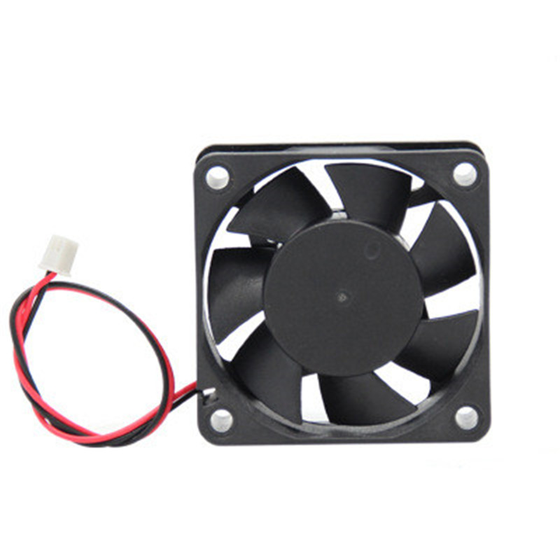 DC Brushless Fan Printer Parts 12V 24V 30x30mm 40x40mm 50x50 60x60 2Pin Computer PC VGA Video Heat Spread Cooler Cooling Vga Fan