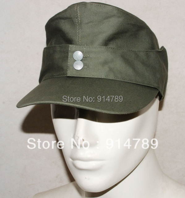 6d8e3e9c590 WWII GERMAN ARMY EM SUMMER PANZER M43 FIELD COTTON CAP SIZE M 32512 ...
