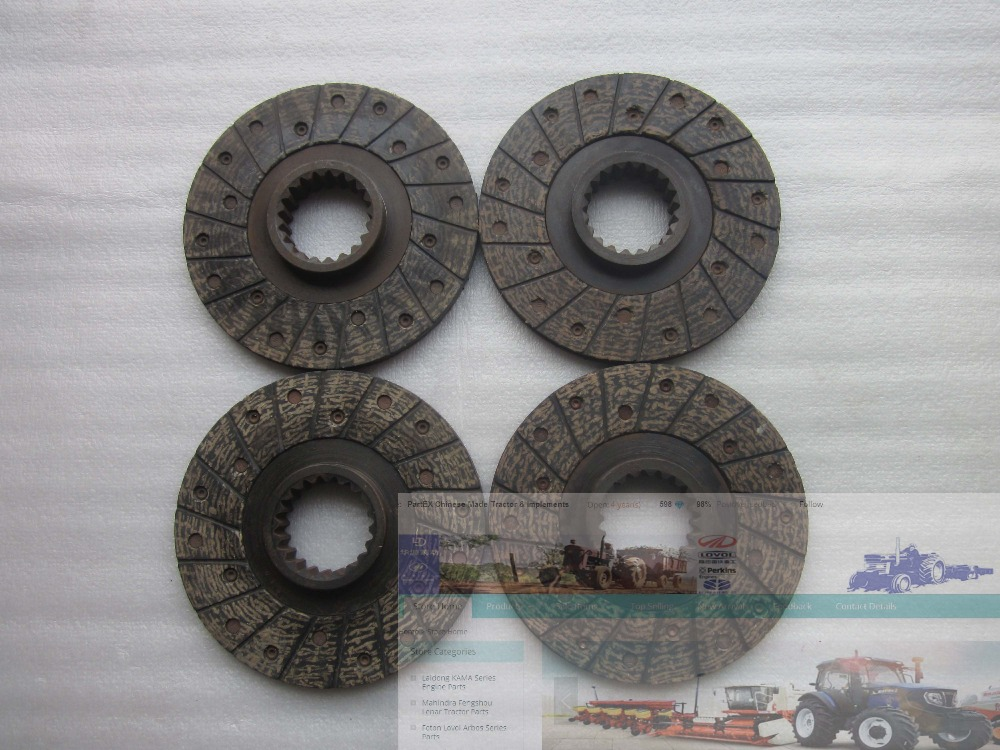 Foton tractor parts, set of friction discs for one tractor use , part number: FT650.43.015 changchai zn490t for tractor use the set of piston group part number