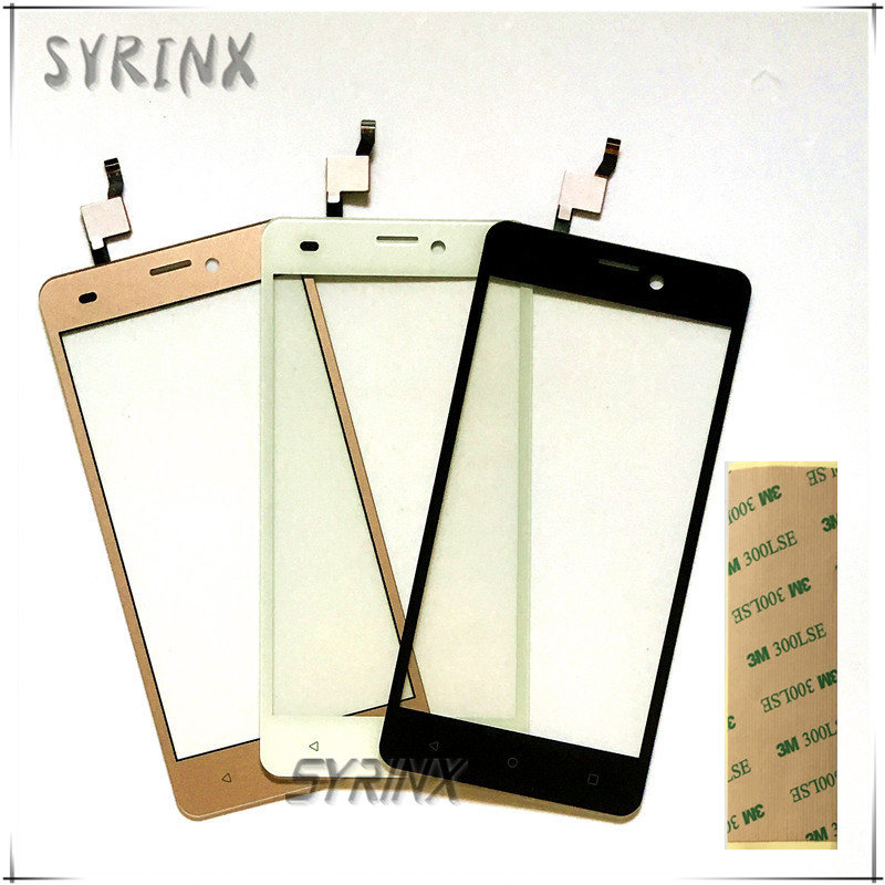 Syrinx With 3M Tape Touch Screen Panel For Prestigio Wize N3 NX3 NK3 3507 Psp3507 DUO Front Glass Touchscreen Digitizer Sensor