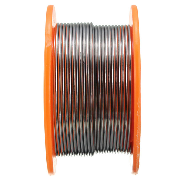 0.5/0.6/0.8/1/1.2/1.5/2.0mm 63/37 FLUX 2.0% 45FT Tin Lead Tin Wire Melt Rosin Core Solder Soldering Wire Roll 5