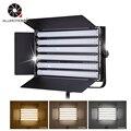 ALUMOTECH Pro 3200-5600K регулируемый 150W светодиодный свет для фотостудии с DMX