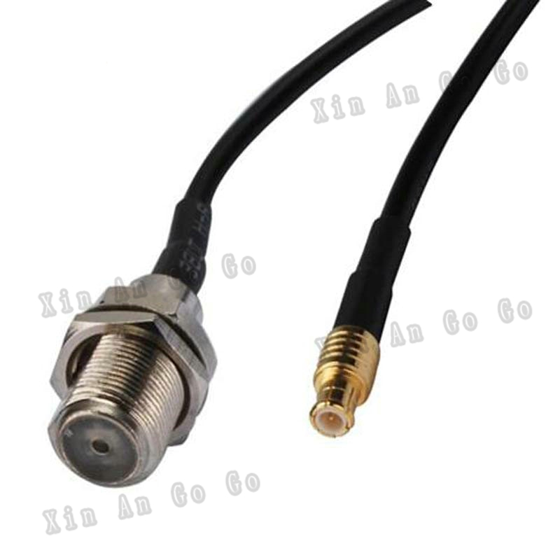 RF Coaxial cable F to MCX connrctor F female to MCX male RG174 pigtail cable 15cm or other fast ship