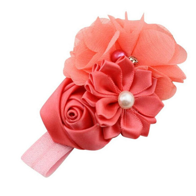 Baby's Flower Hair Band