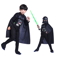 Halloween Costume Boys Clothing Black Ice Warrior Role Playing Star Wars Hero Costume Stage Costumes Children